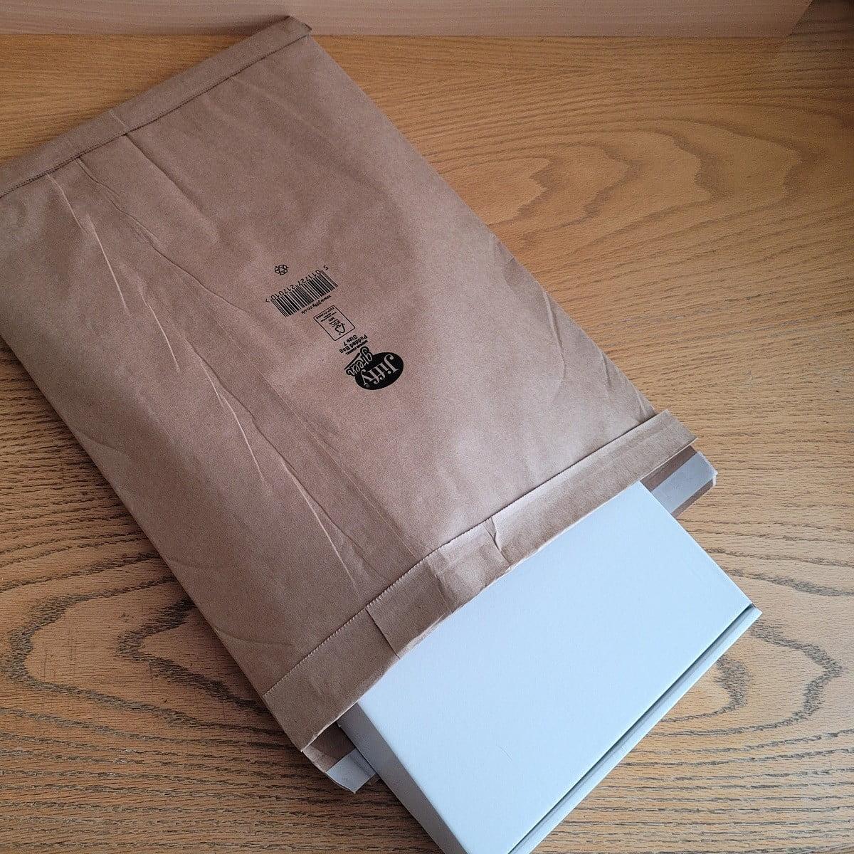 eco-friendly jiffy bag - no plastic