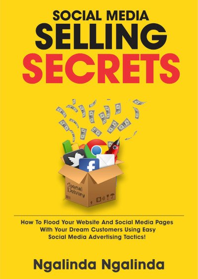 front cover of a self published book titled selling secrets