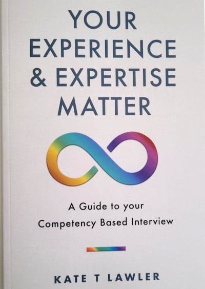 front cover of a self published book titled experience and expertise matter