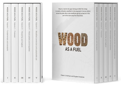 a collection of self-published books called wood as a fuel